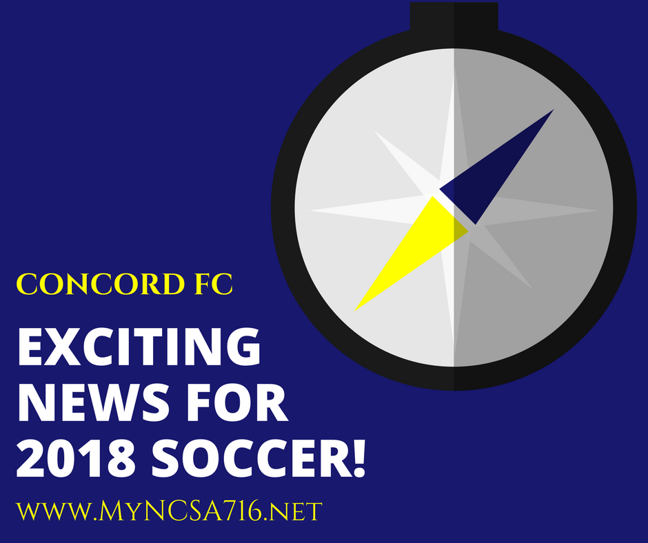 IMPORTANT NCSA/CONCORD FC ANNOUNCEMENTS